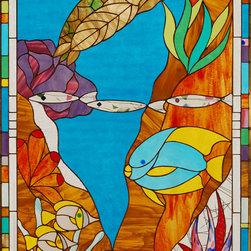 fantasy reef - all original design by michele blank