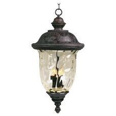 "Carriage House Collection 28"" High Outdoor Hanging Light"