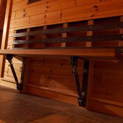 Interior Walnut Bench -