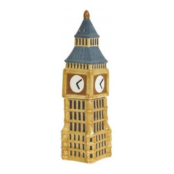 Westland - 4.5 Inch London-Inspired Big Ben Salt and Pepper Shakers - Brown - This gorgeous 4.5 Inch London-Inspired Big Ben Salt and Pepper Shakers - Brown has the finest details and highest quality you will find anywhere! 4.5 Inch London-Inspired Big Ben Salt and Pepper Shakers - Brown is truly remarkable.