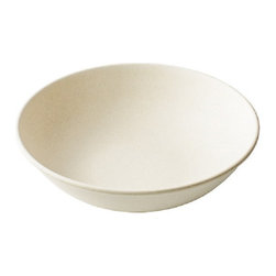 "Bamboo Studio - Bamboo Studio 9.5"" Round Gumbo Bowl - Our reusable Bambooware product  is a revolutionary dishware that's eco,friendly, biodegradable, beautiful, and durable. The process begins by taking the fiber of bamboo plants five years or olderand grinding it into a fine powder."