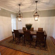 Traditional Dining Room by Loftus Design, LLC