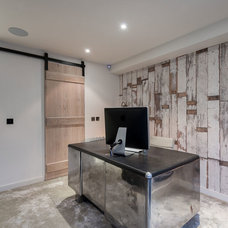 Industrial Home Office by Sparks Property Developments