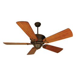 Craftmade - RT52AG Aged Bronze Riata 5 Blade Indoor Ceiling Fan with Pull Chain and Reversib - Craftmade RT52 52-in Riata Ceiling Fan Riata Ceiling Fan3 Speed heavy dutyreversible motor Motor size:188 x 15mm Number of blades: 5 Blade pitch: 14