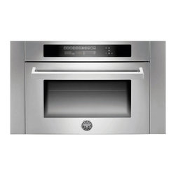 """Bertazzoni 24"""" Combination Microwave Oven, Stainless Steel 