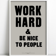 Modern Prints And Posters by Anthony Burrill