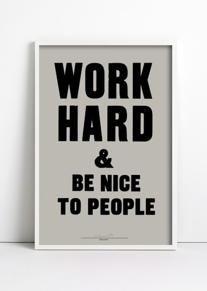 Modern Artwork by Anthony Burrill