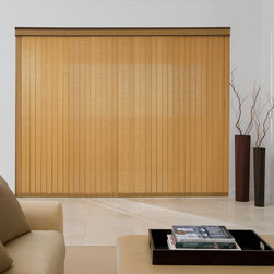 Levolor - Levolor Fabric Vertical Blinds: Linen - Levolor Fabric Vertical Linen shades are designed with a beautiful blend of today's popular and modern decorating ideas to complement your lifestyle.  Soft, casual colors combine with classic linen looks to give your windows style and sophistication.