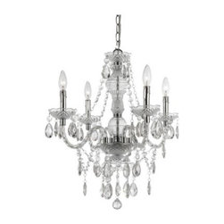 AF Lighting 8350-4H Naples 4 Light Mini Chandelier - Clear - About AF LightingAF Lighting has been among the leading manufacturers of impressive and distinctive lighting designs since 1987. Its goal is to maintain affordability and value even while offering you the latest in style and interior fashion. Headquartered in Pompano Beach, Fla., AF Lighting has showrooms across the country and offers over 800 products through various furniture stores, websites, and interior designers. In 2005, AF Lighting partnered with Candice Olson of HGTV's Divine Design to produce an exclusive lighting collection personally designed by Candice. It's just one example of how AF Lighting is working to bring you the most up-to-date styles for your home.