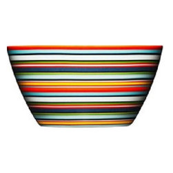 Iittala - Iittala Origo Bowl 16 oz - Orange - The Origo dinnerware collection features bold, modern color combinations allowing for unlimited combinability of the cups, bowls, and plates. Mix and match to suit your design whimsy. As durable as it is attractive, iittala's Origo dinnerware stands the test of everyday use over a long time. Designed by: Alfredo Haberli, 1999 Includes one brown bowl Porcelain Dishwasher safe.