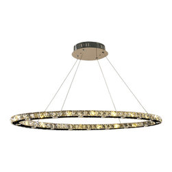 "Worldwide Lighting - Galaxy Collection 32 Light Chrome Finish and Crystal 42"" Oval Chandelier - This stunning LED chandelier only uses the best quality material and workmanship ensuring a beautiful heirloom quality piece. Featuring a radiant chrome finish and finely cut premium grade crystals with a lead content of 30% for spectacular radiance. The LED light source will illuminate the room with superior energy efficiency, extreme long life, and durability. Worldwide Lighting is a  premier designer manufacturer and direct importer of fine quality chandeliers, surface mounts, and sconces for your home at a reasonable price. You will find unmatched quality and artistry in every luminaire we manufacture."