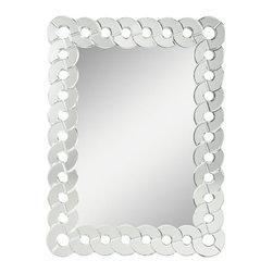 Kichler Lighting - Kichler Lighting Orbitz Modern / Contemporary Rectangular Mirror X-83187 - Kichler Lighting Orbitz Modern / Contemporary Rectangular Mirror X-83187