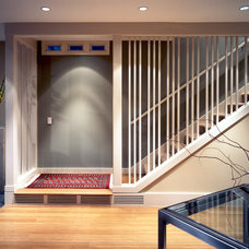 Contemporary Staircase by Lawrence Architecture