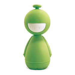 AH-YO! - That Guy! Use Me - Laptop Tool Kit, Green - That Guy sits on your desk and keeps you company when not in use. With his giant smile (one side of head) or his iconic scowl (other side) he helps express exactly what you're feeling.