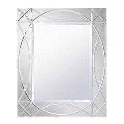 "Kichler - Kichler 78229 Sophia 34"" Modern Wall Mounted Mirror - Specifications:"