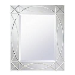 "Kichler - Kichler 78229 Sophia 34"" Modern Wall Mounted Mirror - Specifications:"