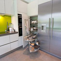 Kitchen german products on houzz for Tall corner kitchen unit