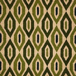 Momeni Rug - Momeni Rug Habitat 5' x 8' HB-16 Green HABITHB-16GRN5080 - Hand tufted by expert artisans, the Habitat Collection preserves authentic texture and feel. These rugs feature intriguing ethnic and nomadic motifs in fashion forward color palettes that add realism and charm to the home. With broad global influences, the Habitat Collection brings worldly sophistication into any home.