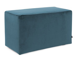 Howard Elliott - Mojo Turquoise Universal Bench - Simple design, infinite uses. benches make great side tables, ottomans, alternate seating and more. Constructed by our expert craftsmen, our benches are made with a sturdy base and high-density foam.