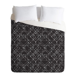 DENY Designs - Zoe Wodarz Feeling Digital Duvet Cover - Turn your basic, boring down comforter into the super stylish focal point of your bedroom. Our Luxe Duvet is made from a heavy-weight luxurious woven polyester with a 50% cotton/50% polyester cream bottom. It also includes a hidden zipper with interior corner ties to secure your comforter. it's comfy, fade-resistant, and custom printed for each and every customer.