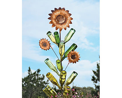 eclectic garden sculptures by Gardener's Supply Company