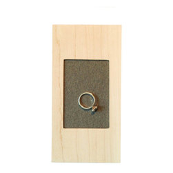 Your Nest Inspired - The Tray, A Modern Ring Pillow Alternative - My modern take on the ring pillow allows you to not only use it on your wedding day, but to continue reusing it every day, as special a place to store your rings when they are not being worn.