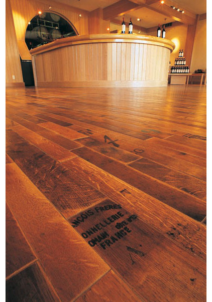 eclectic wood flooring by Fontenay