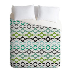 DENY Designs - Karen Harris Coming Undone In Succulent Light Duvet Cover - Turn your basic, boring down comforter into the super stylish focal point of your bedroom. Our Luxe Duvet is made from a heavy-weight luxurious woven polyester with a 50% cotton/50% polyester cream bottom. It also includes a hidden zipper with interior corner ties to secure your comforter. it's comfy, fade-resistant, and custom printed for each and every customer.