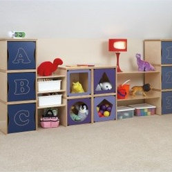 RooMeez 10 Cube Wall Unit