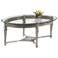 Traditional Coffee Tables Berkley Oval Cocktail Table