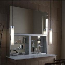 "Robern - Robern Uplift Cabinets UC4827FP - Robern Uplift Mirrored Medicine Cabinet-48"" W x 27"" H x 7-5/8"" Deep - UC4827FP"