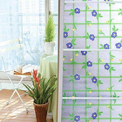 Self-Adhesive Privacy Static Window Film - Instruction: