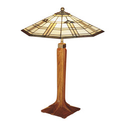 Stickley Corbel Base Table Lamp 89/91-032-3 -
