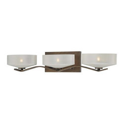 Minka Lavery - Minka Lavery 4223 3 Light Bathroom Vanity Light from the Eclant� Collection - Three Light Bathroom Vanity Light from the Eclant� CollectionFeatures: