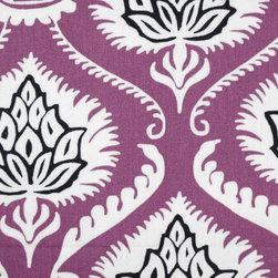 Damask - Grape Upholstery Fabric - Item #1010071-119.