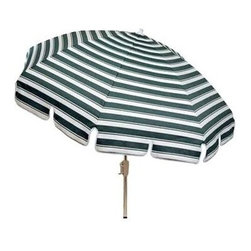 Woodard - Conventional Top Umbrella for Patio Stands (Addison) - Fabric: Addison. All products are made to order. Orders cannot be cancelled after 5 calendar days. If order is cancelled after 5 calendar days, a 50% restocking fee will be applied. 16 lbs.