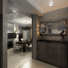 Modern Entry by S&A Decor