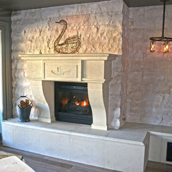 Fireplace Surround Mantel  Los Angeles California - Fireplace surround, Fireplace Mantel and Hearth by Realm of Design Los Angeles