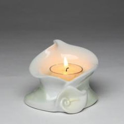 CG - Small White Calla Lily Shape Design Votive Tea Light Candle Holder - This gorgeous Small White Calla Lily Shape Design Votive Tea Light Candle Holder has the finest details and highest quality you will find anywhere! Small White Calla Lily Shape Design Votive Tea Light Candle Holder is truly remarkable.