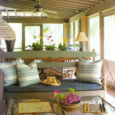 Rustic Porch by Ellen Kennon