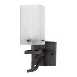 Nuvo Lighting - Cubica 1-lt Wall Vanity - Cubica 1-lt Wall Vanity