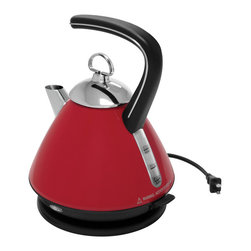 Chantal - Chantal Electric Water Kettle, Chili Red, 52 Oz. -