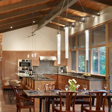 Modern Pendant Lighting by FINNE Architects