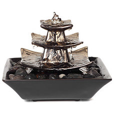Modern Indoor Fountains by Z Gallerie