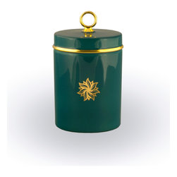 Maison Alma - Amber Signature Scented Candle - Add style to your powder room or living area with a sophisticated candle. When it's lit, you'll enjoy the warm amber scent and when it's not, the classic Limoges porcelain container and platinum accents will add style and grace to your room. It's the ultimate decorative piece.