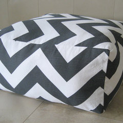contemporary ottomans and cubes by Etsy