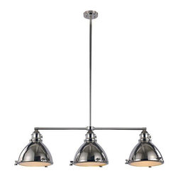 Trans Globe Lighting - Trans Globe Lighting PND-1007 PN Island Light In Polished Nickel - Part Number: PND-1007 PN