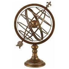 Traditional Home Decor Old World Astrolabe