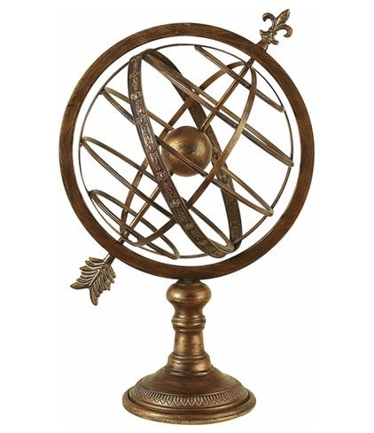 Traditional Accessories And Decor Old World Astrolabe