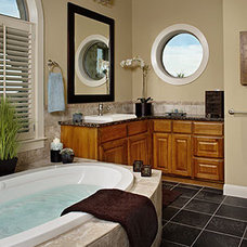 Traditional Bathroom by Laura Britt Design